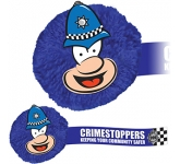 Policeman Mophead Card Face Logo Bug  by Gopromotional - we get your brand noticed!