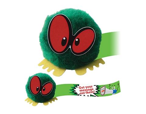 Scary Eyes Logo Bug