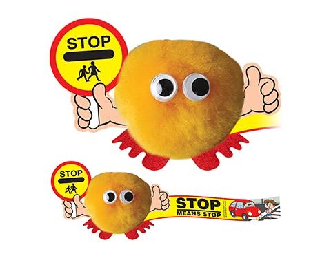 Stop Sign Handholder Logo Bug