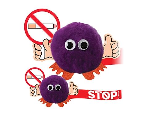 Stop Smoking Handholder Logo Bug