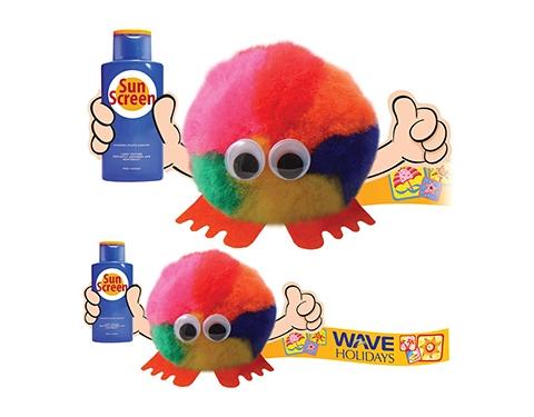 Sun Cream Handholder Logo Bug