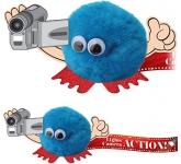 Video Camera Handholder Logo Bug