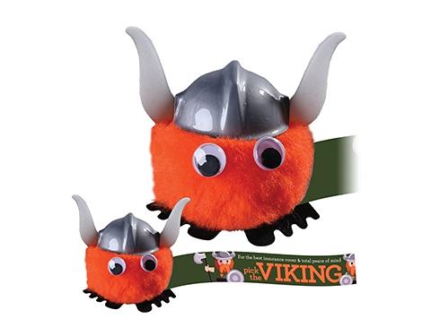 Viking Hatted Logo Bug