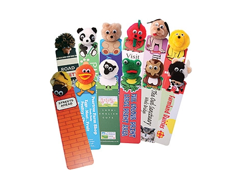 Animal Logo Bug Bookmark