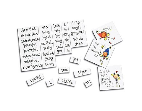 A4 Magnetic Word Games