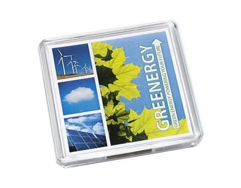 Square Acrylic Fridge Magnets