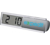 Micro Desk Clock  by Gopromotional - we get your brand noticed!