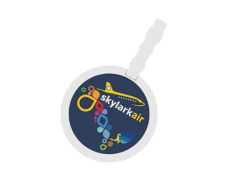 ColourBrite Circular Luggage Tag