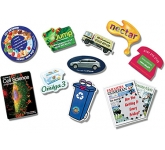 Medium Custom Shaped Ultra Thin Fridge Magnet  by Gopromotional - we get your brand noticed!