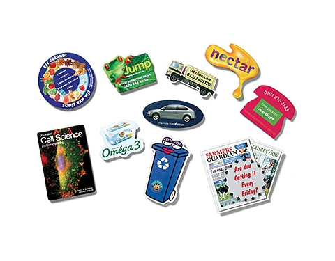 Midi Custom Shaped Ultra Thin Fridge Magnets