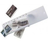 Plastic Ruler Magnifier  by Gopromotional - we get your brand noticed!