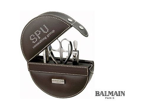 e766d87636a0 Promotional Balmain Millau 5 PIece Manicure Set Printed with your Logo at  GoPromotional