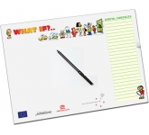 A3 Magnetic PVC Memo Board  by Gopromotional - we get your brand noticed!