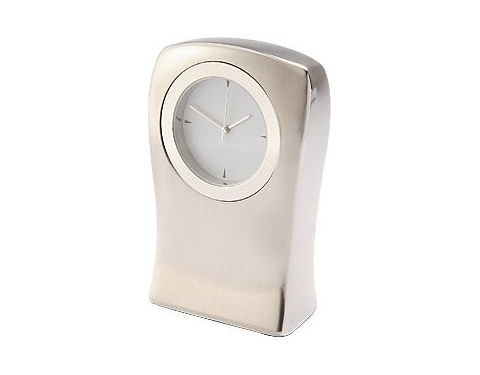 Torso Metal Desk Clock