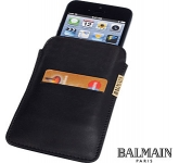 Balmain Leather Smart Phone Pouch