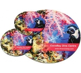 Round Hard Top Mouse Mat Coaster Set  by Gopromotional - we get your brand noticed!