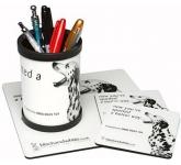 Mouse Mat DeskSet  by Gopromotional - we get your brand noticed!