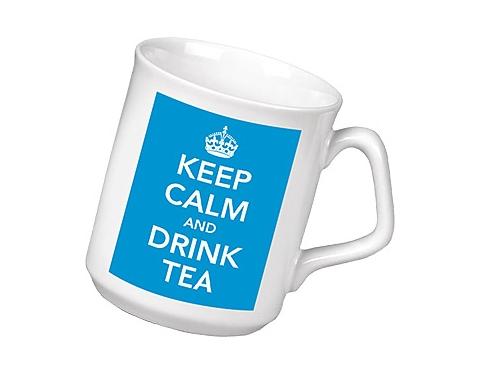 Keep Calm & Drink Tea Mug