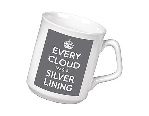 Keep Calm Every Cloud Has A Silver Lining Mug