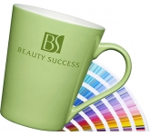 Torino Pantone Porcelain Mug  by Gopromotional - we get your brand noticed!
