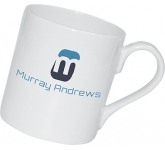 Chique Espresso China Mug  by Gopromotional - we get your brand noticed!