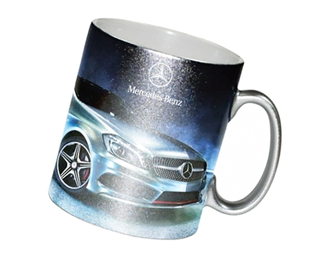 Sparkle Metallic Dye Sub Photo Mug
