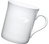 Newbury Etched Mugs - White