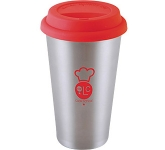 Stainless Steel Take Away Mug  by Gopromotional - we get your brand noticed!