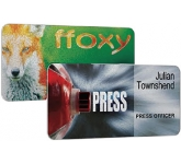 Full Colour Scratch Resistant Metal Name Badge  by Gopromotional - we get your brand noticed!