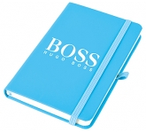 Phantom A6 Soft Feel Notebook  by Gopromotional - we get your brand noticed!