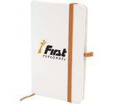 A6 Blanco Notebook  by Gopromotional - we get your brand noticed!