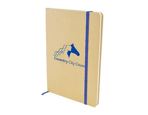 Malibu A5 Natural Recycled Notebook