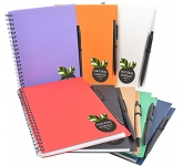Zanzibar A5 Recycled Notebook & Pen  by Gopromotional - we get your brand noticed!