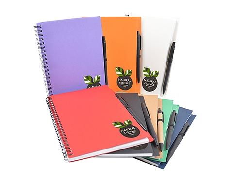 Zanzibar A5 Recycled Notebook & Pen