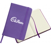 Warwick A5 Soft Feel Notebook  by Gopromotional - we get your brand noticed!