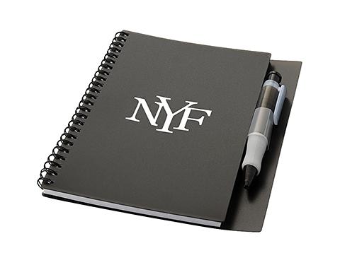 A5 Hyatt Spiral Bound Notebook & Pen