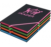 A6 Neon Edge Printed Notebook  by Gopromotional - we get your brand noticed!