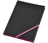 A5 Neon Edge Notebook  by Gopromotional - we get your brand noticed!
