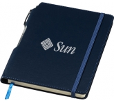 A5 Montpellier Notebook & Pen  by Gopromotional - we get your brand noticed!