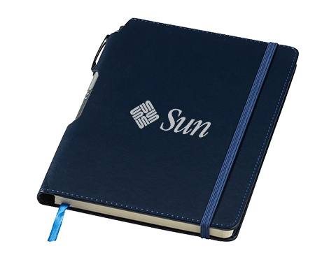 A5 Panama Hard Cover Notebook & Pen
