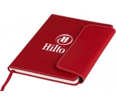 A5 Horsens Magnetic Notebook & Stylus Pen  by Gopromotional - we get your brand noticed!