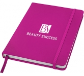 A5 Spectrum Soft Feel Notebooks - Lined Page  by Gopromotional - we get your brand noticed!