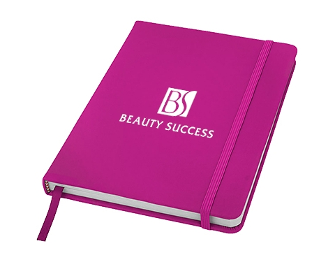 A5 Spectrum Soft Feel Notebook - Lined Pages
