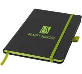 A5 Colour Sharp Branded Notebook  by Gopromotional - we get your brand noticed!