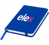 A5 Spectrum Soft Feel Notebooks - Plain Page  by Gopromotional - we get your brand noticed!