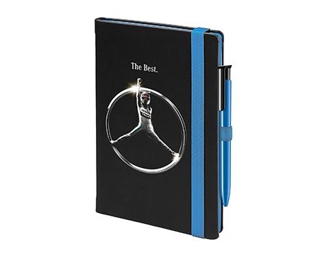 Salsa Colour A5 Notebook & Absolute Pen