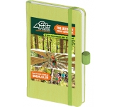 Nature Colour A6 Soft Feel Pocket Notebook  by Gopromotional - we get your brand noticed!