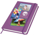 Shine A6 Soft Feel Notebook  by Gopromotional - we get your brand noticed!