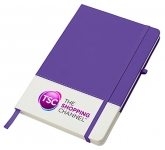 Colours A5 Notebook  by Gopromotional - we get your brand noticed!