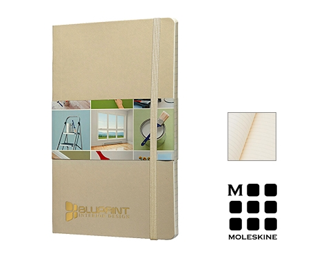 Moleskine Classic A5 Soft Feel Notebooks - Lined Page